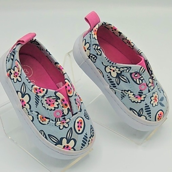 Cat & Jack Other - Cat & Jack Baby Girl Slip on Sneakers sz 3